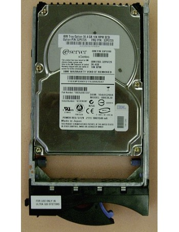 Disco Duro IBM 36GB 10K U320 HOT SWAP (32P0729)